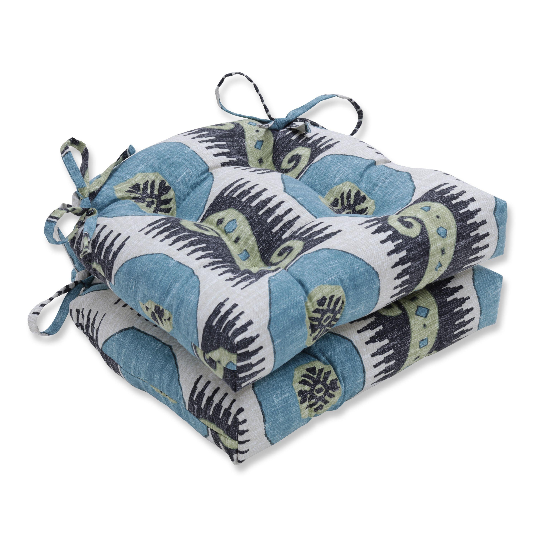 Pillow Perfect Indoor Souk Treasure Indian Blue Reversible