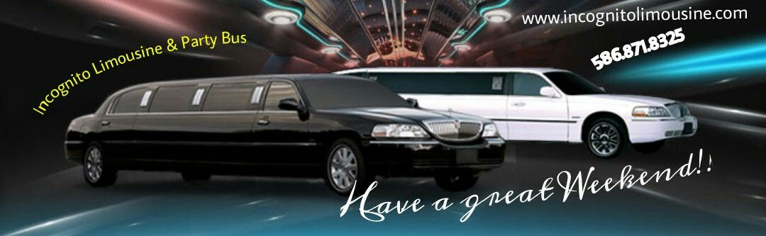 Incognito Limousine & Party Bus 586.871.8325 www.incognitolimousine.com   #limo #partybus #luxurylimo #limousine #wedding #homecoming #bachelor #bachelorette #party