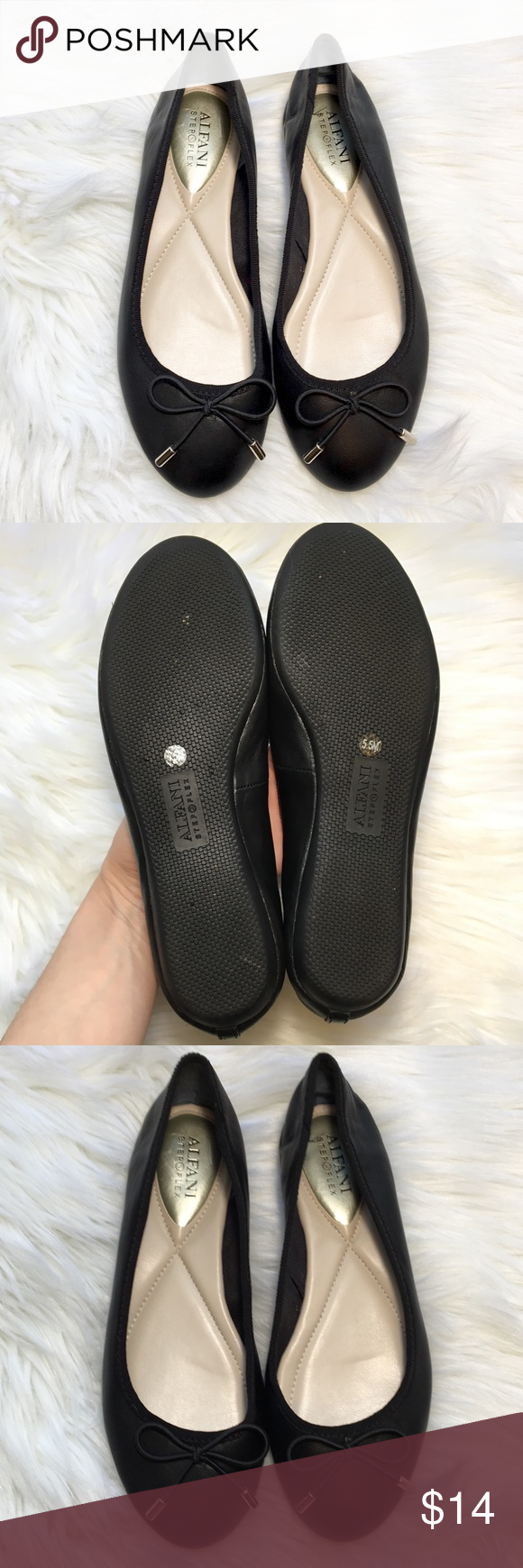 f8087299733b Alfani Aleaa Step  N Flex Ballet Flats SZ 5.5 Alfani Aleaa Step N Flex  Ballet Flats • Size Women s 5.5 • Excellent used condition (please see  photos-- there ...
