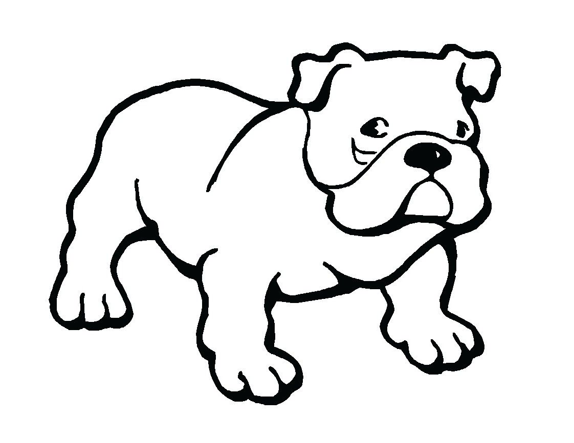 Bulldog Puppy Clipart Dots Fish Clipart Best