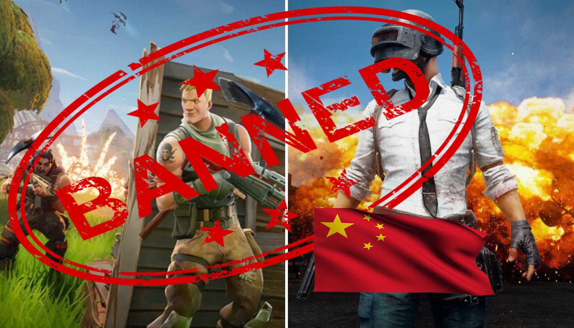 PUBG and Fortnite are Banned in China? Fortnite, Fun, China