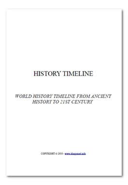 Free Ebook Pdf Download World History Timeline  History