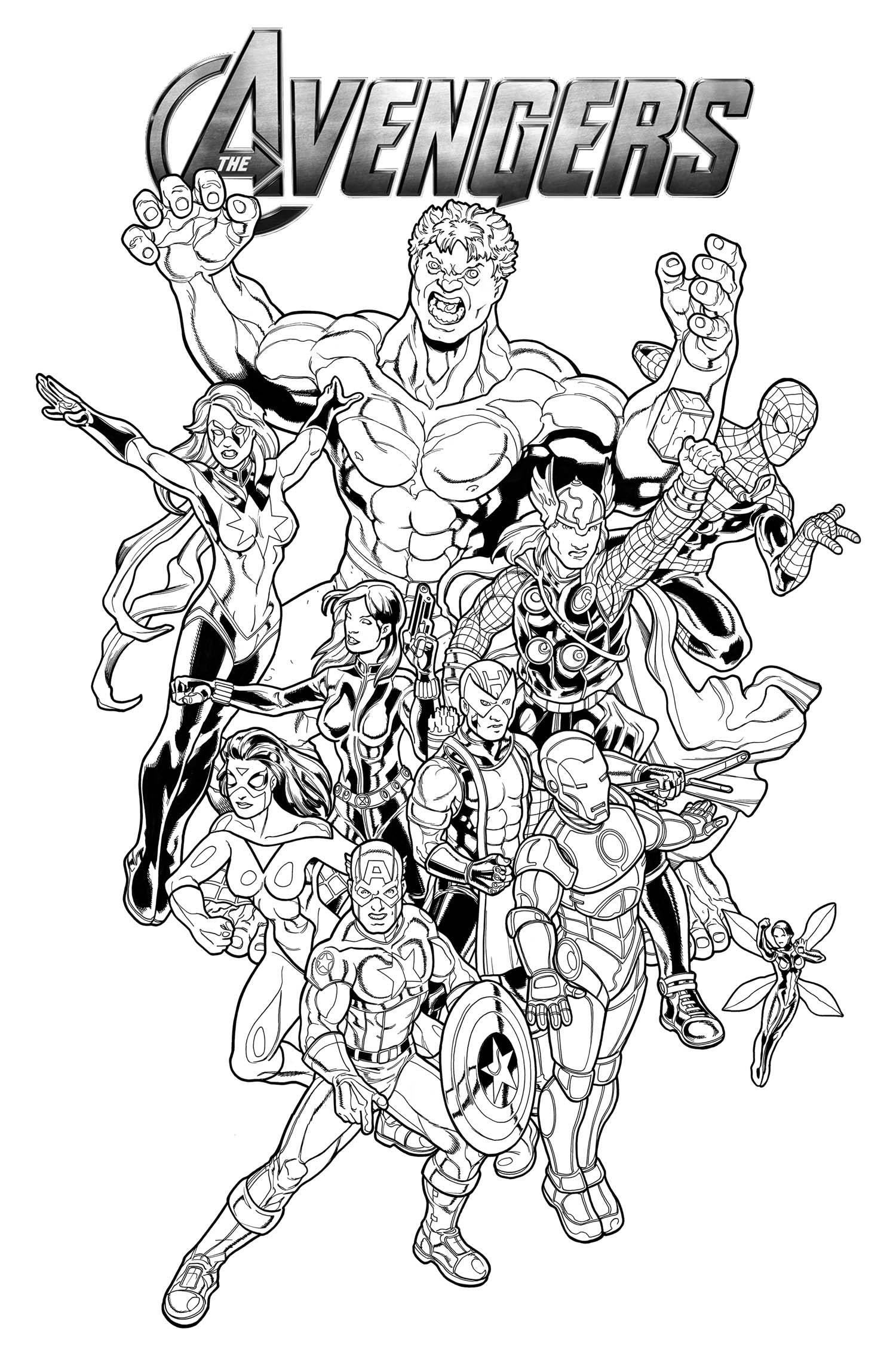 #coloring #marvel #pages #printable 2020 Check more at ...