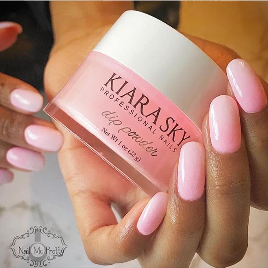 Kiara Sky Nails Official On Instagram Nailmeprettyau Does Exactly That With This Kiaraskynails Dip Powder Mani She Dip Nail Colors Sky Nails Dipped Nails
