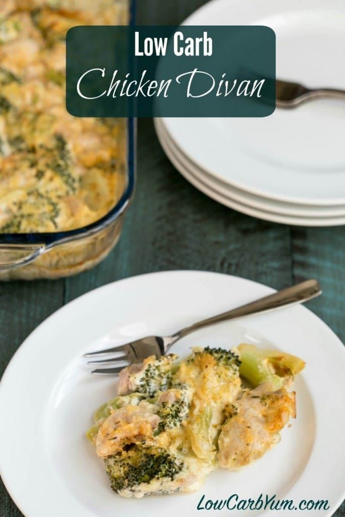 Get The Taste Of Chicken Divan Without The Extra Carbs This Low Carb Chicken Divan Low Carb Chicken And Broccoli Chicken Divan Casserole Chicken Divan Recipe