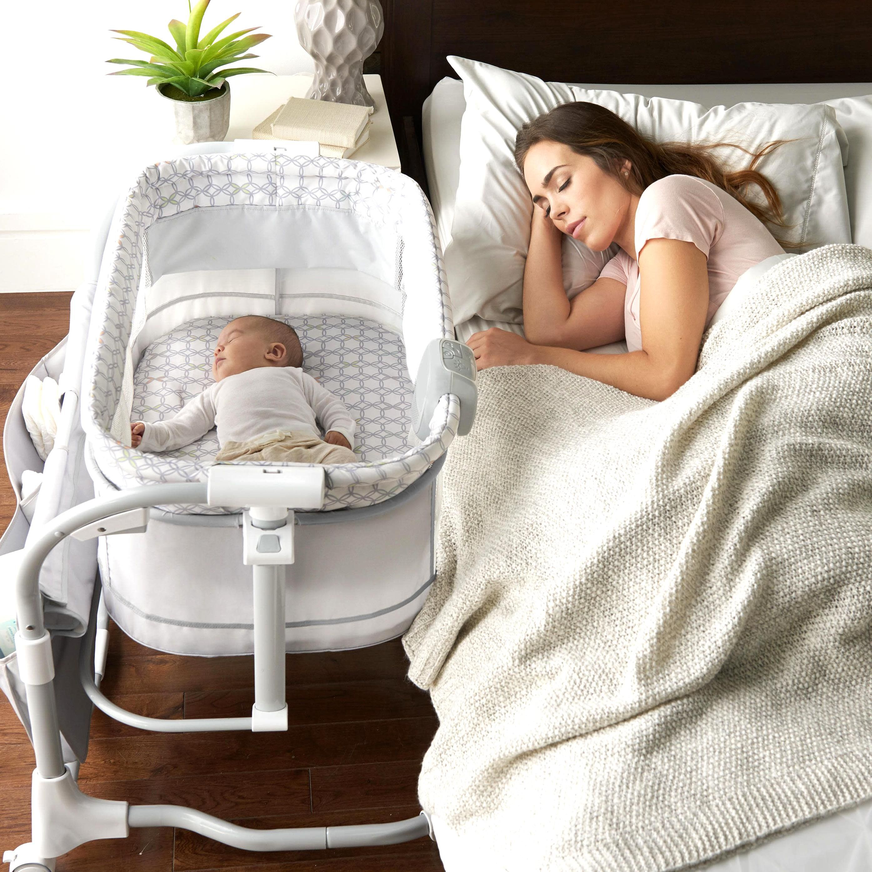 Pin By Kierra Miracle On My Beautiful Collections In 2020 Baby Bassinet Baby Cribs Bedside Bassinet