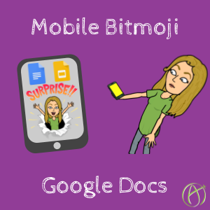 You can now put Bitmoji in Google Docs right on your phone