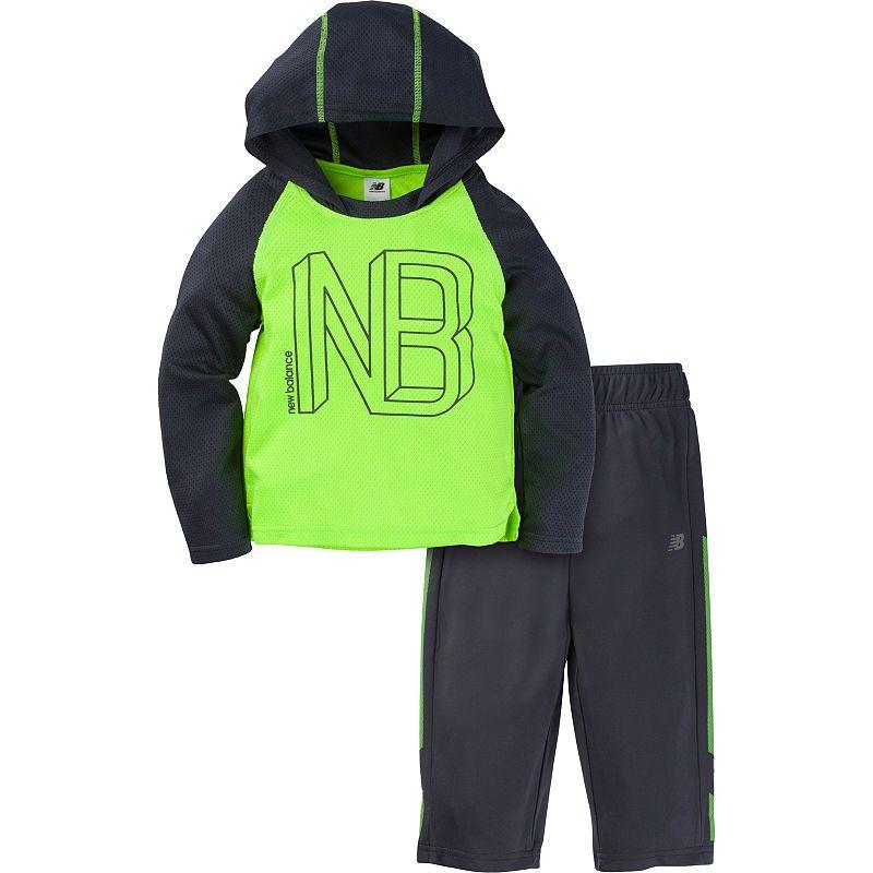 18acec6f5885 New Balance 2-pc. Logo Pant Set Baby Boys