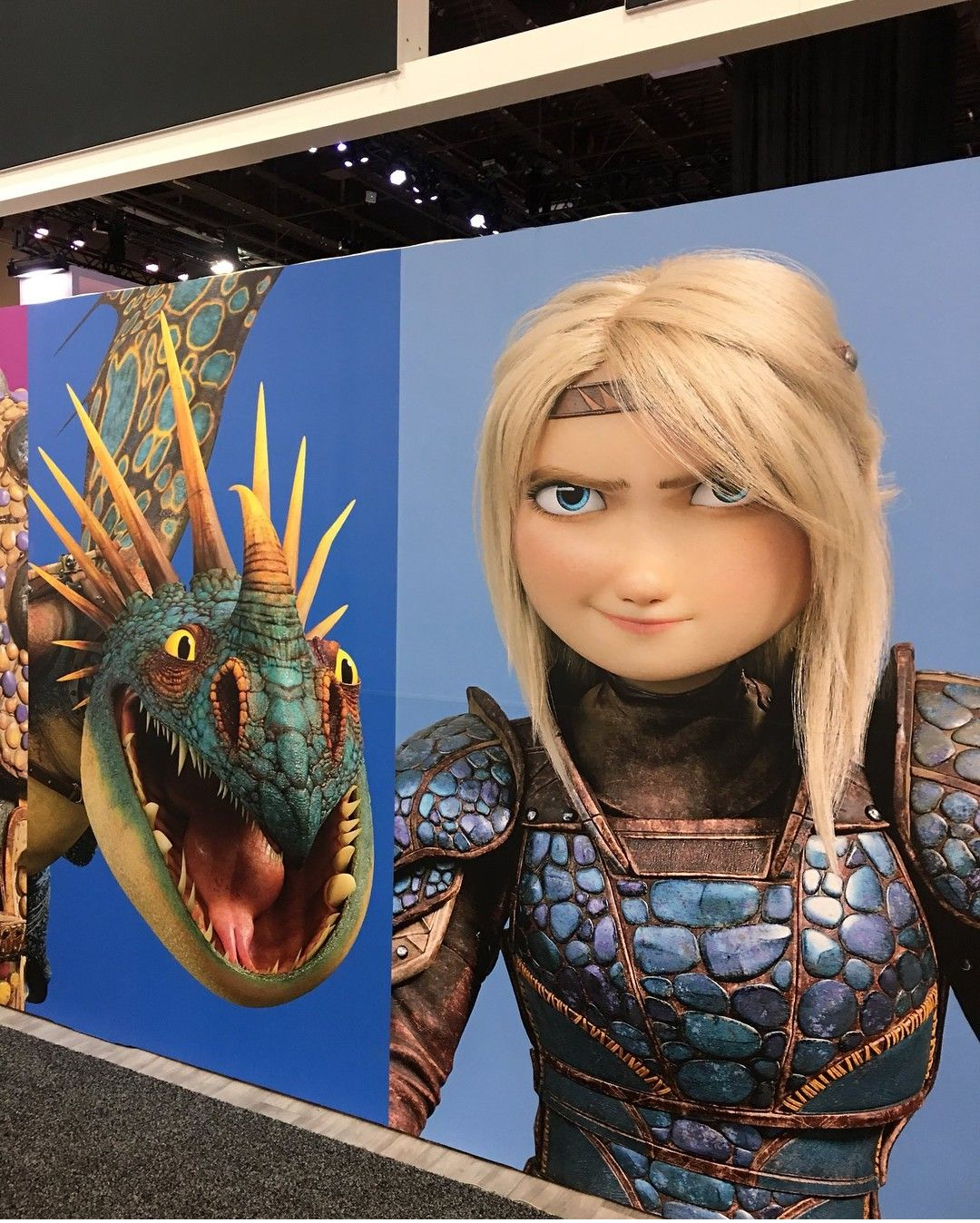 Astrid Hofferson And Stormfly HTTYD 3
