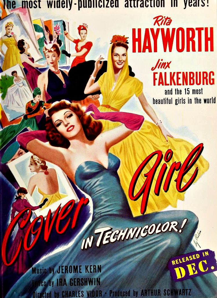 Image result for cover girl 1944 poster