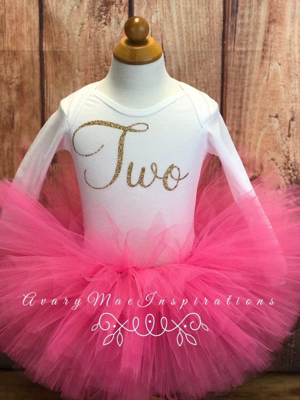 Two Year Old Birthday Outfit for Girls, Turning 2 Birthday