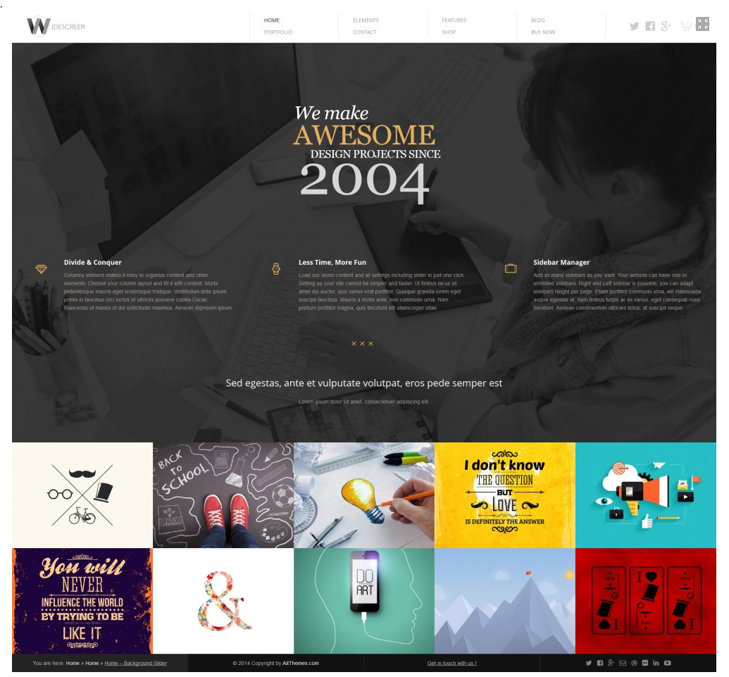 55 Creative Portfolio WordPress Themes | Portfolio website