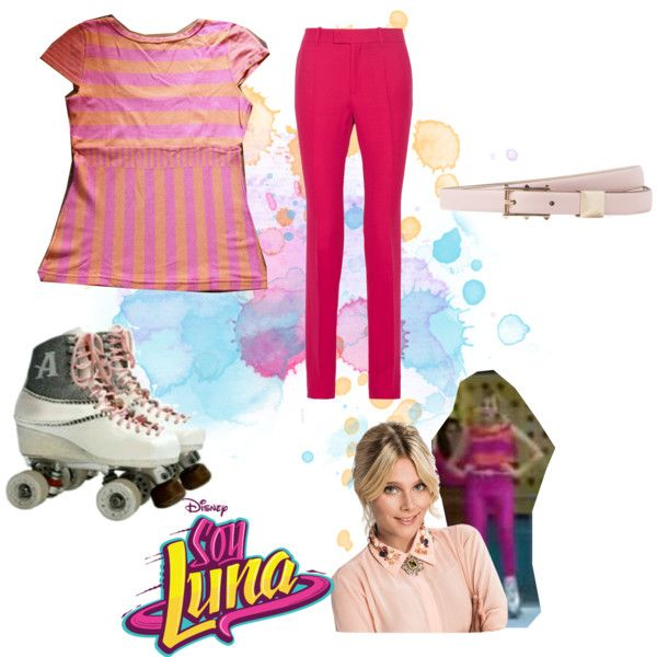 soy luna by maria-cmxiv on Polyvore featuring moda, Gucci and Valentino