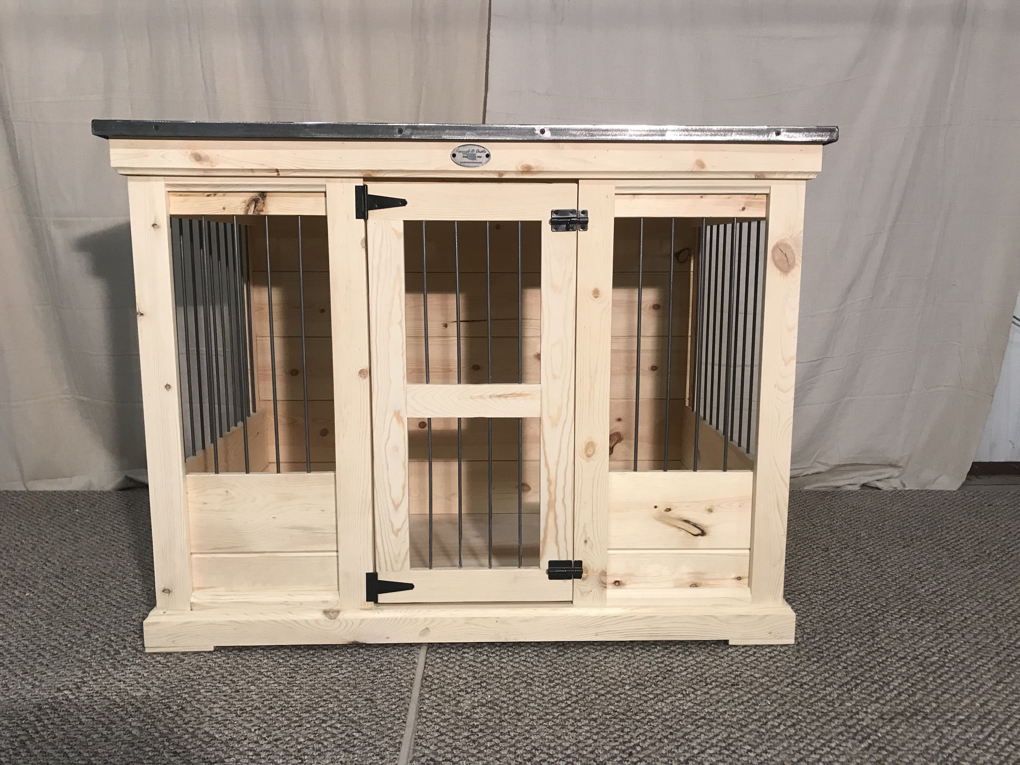 Single indoor dog kennel! Replace that wire crate! | Single Indoor ...