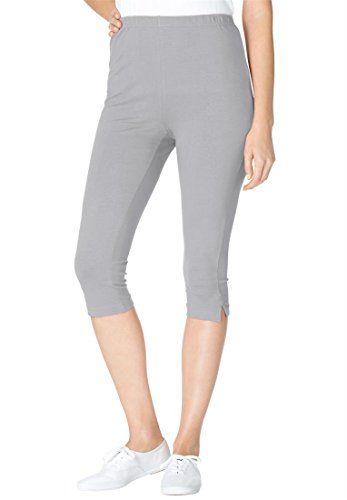 9c60235afb07d Women's Plus Size Leggings, Capri Len… | Leggings | Plus size ...