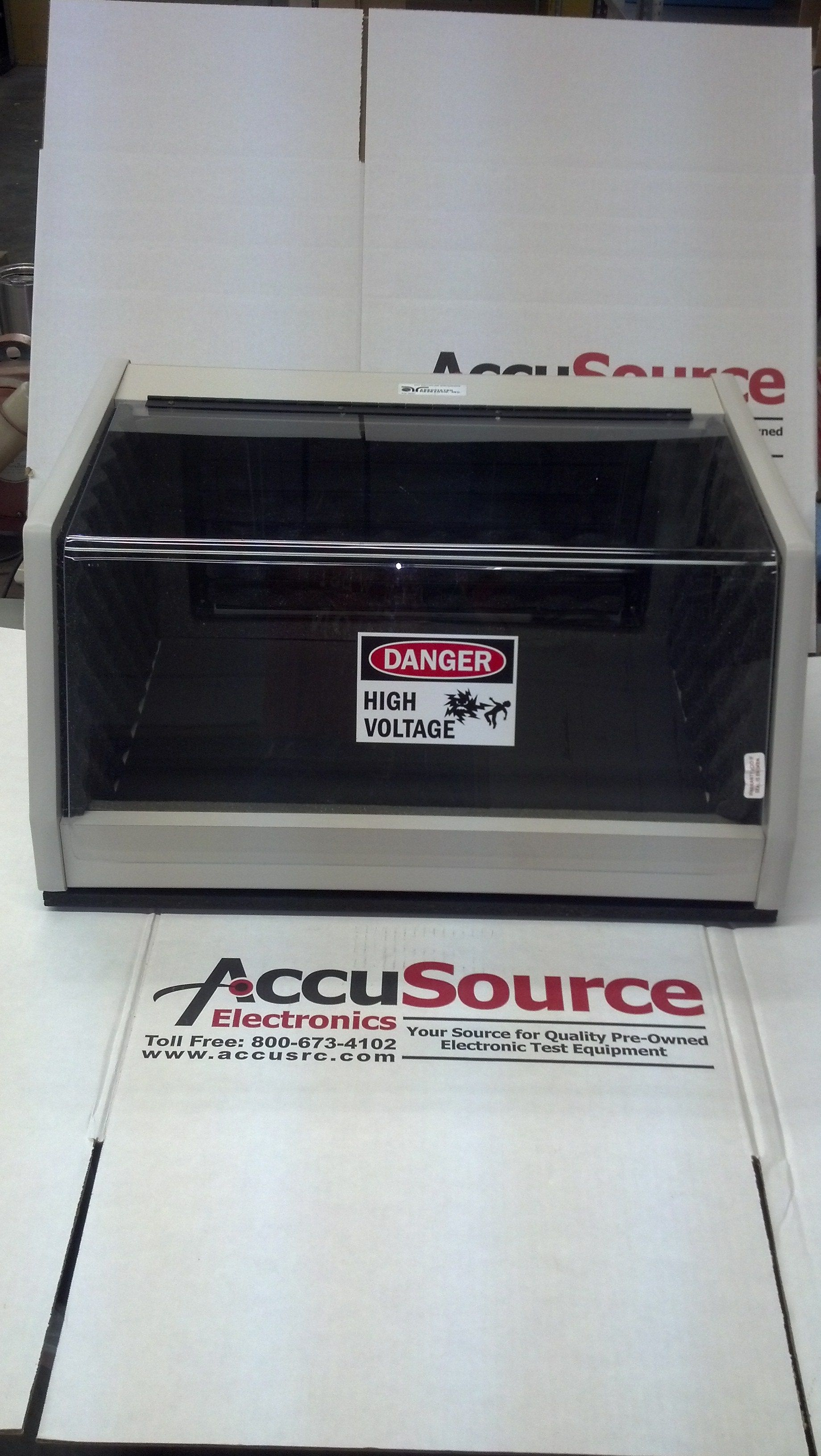 Associated Research 39067 Dut Enclosure 24 W X 19 D X 11 5 H With Safety Interlock Refurbished Electronics Electronics Research