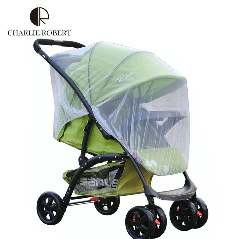 Ao ar livre carrinho de bebê mosquiteiro carrinho de bebê Insect Net malha carrinho de bebé Whole tampa carrinho de bebê tenda acessórios HK1178