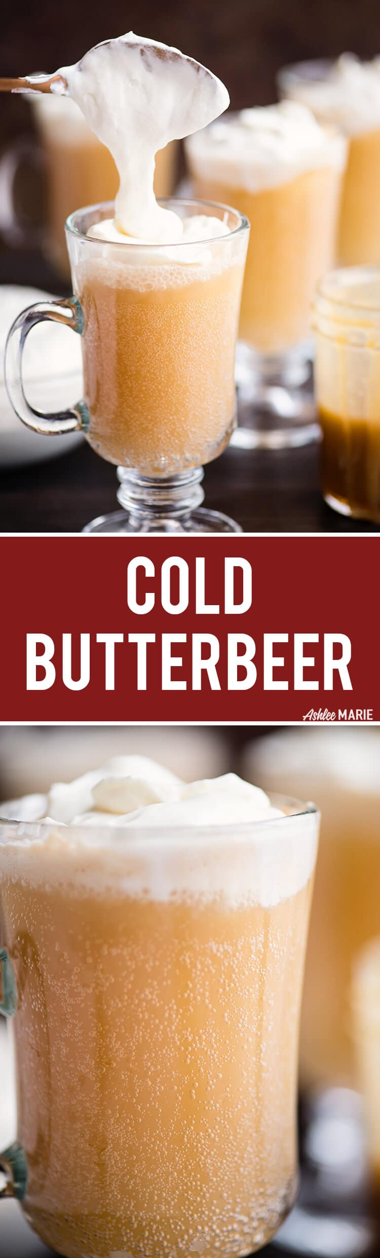 Copycat Homemade Cold Butterbeer recipe – video tutorial