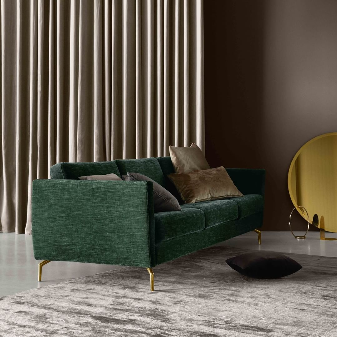 A Light Look And Slim Proportions Make Our Osaka Sofa Perfect For