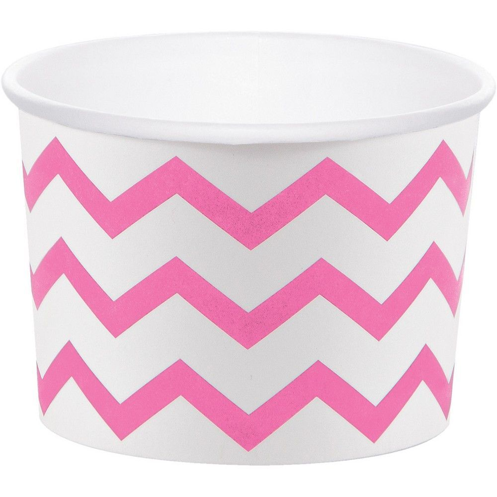 24ct Treat Cups Disposable Tableware Accessories Pink