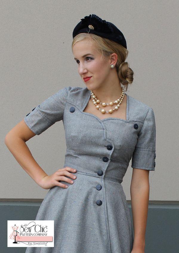 Simplicity | Vintage patronen | Damesmode | Pinterest