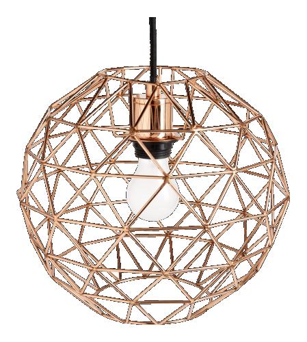 cage h ngeleuchte copper lampen lichter leuchter pinterest. Black Bedroom Furniture Sets. Home Design Ideas