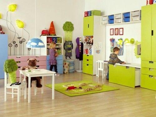 15 hermosos dise os de cuartos de juegos para ni os toys education and daycare pinterest. Black Bedroom Furniture Sets. Home Design Ideas