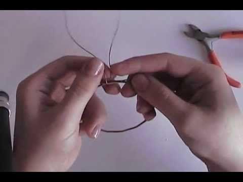 Guitar String Bangle Tutorial - YouTube