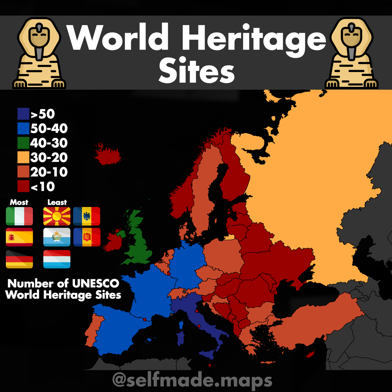 World Heritage Sites In European Countries