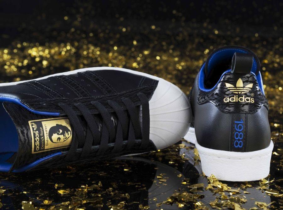 """adidas Originals Superstar 80s """"Derrick Rose"""" - Release Date ... d82303966"""