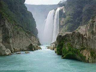 Las cascadas de Tamul, SLP