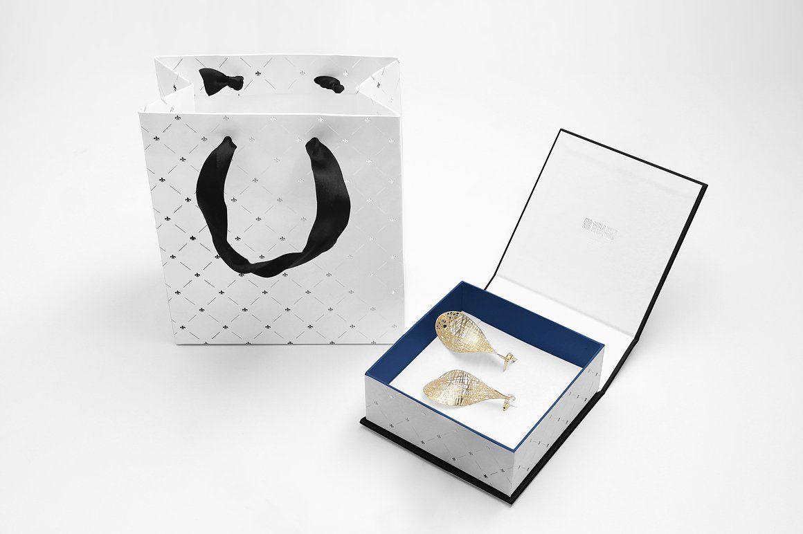 Download Jewelry Box Mockup Set Box Mockup Adobe Illustrator Design Box Template