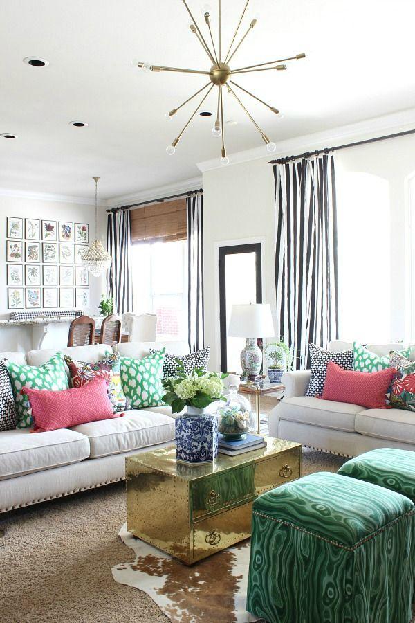 2017 Spring Home Tour Living Room Decor Colors Living Room