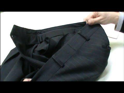 Cambiar Talla A Un Pantalón De Vestir De La Cintura Pantalones De Vestir Pantalones De Vestir Hombre Como Arreglar Un Pantalon