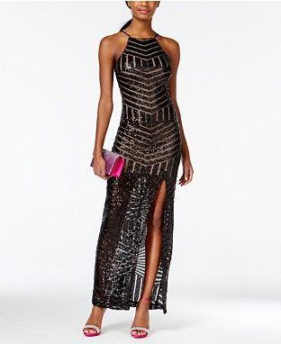 Black Long Shop All Prom Dresses Macys Prom Pinterest Prom