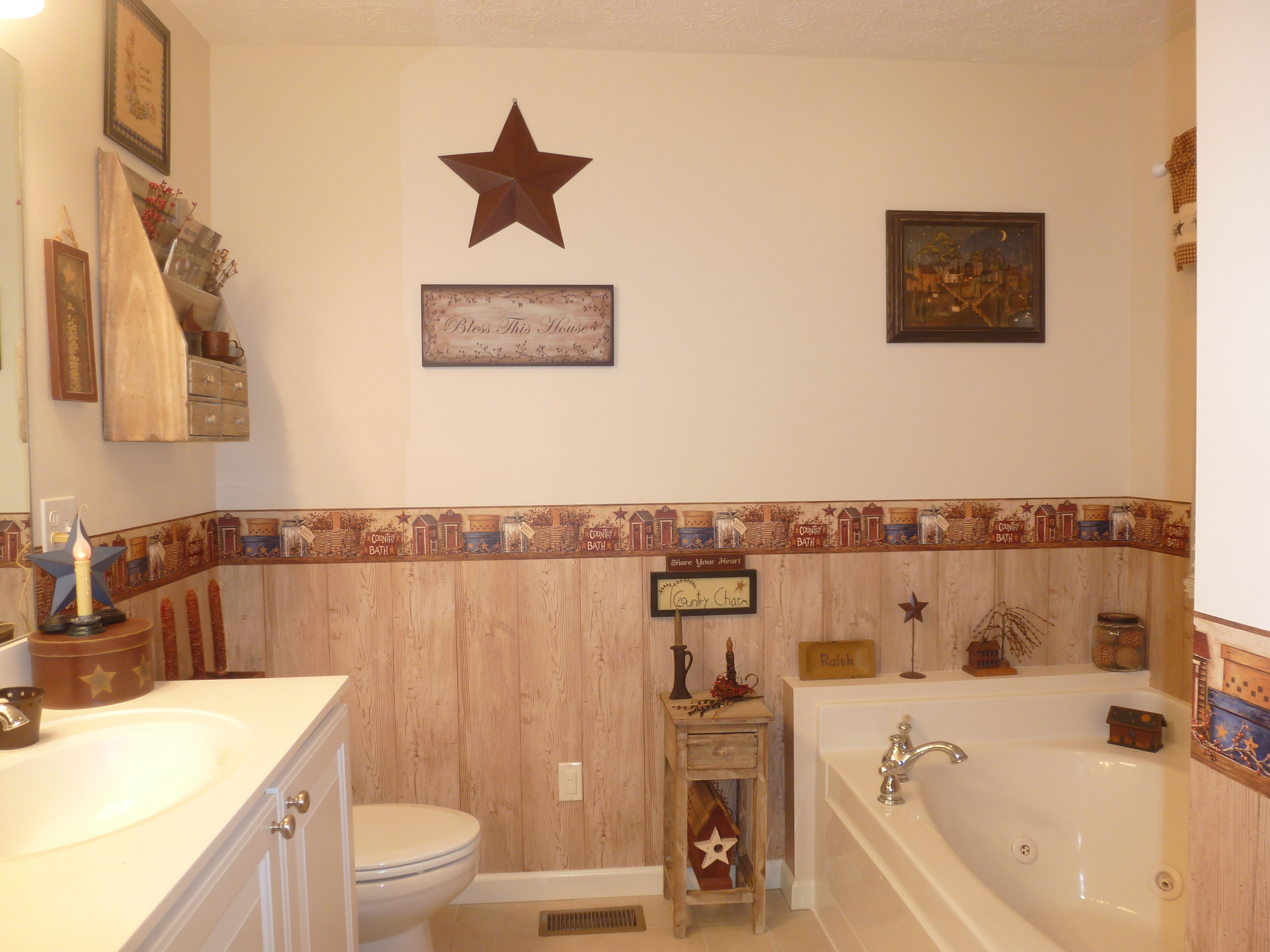 Primitive Country Bathroom Ideas Interesting Primitive Bathroom  Love Collecting Prims  Pinterest Inspiration Design