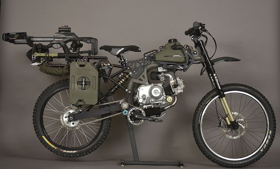 Motoped Survival Edition Survival Bug Out Vehicle Bike