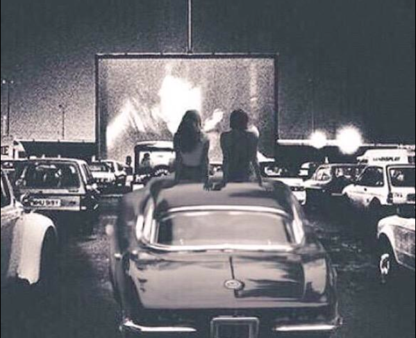 Drive in movie, Drive in movie