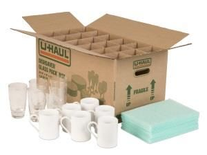 Glass Pack Kit Moving Supplies Diy Glass Glass