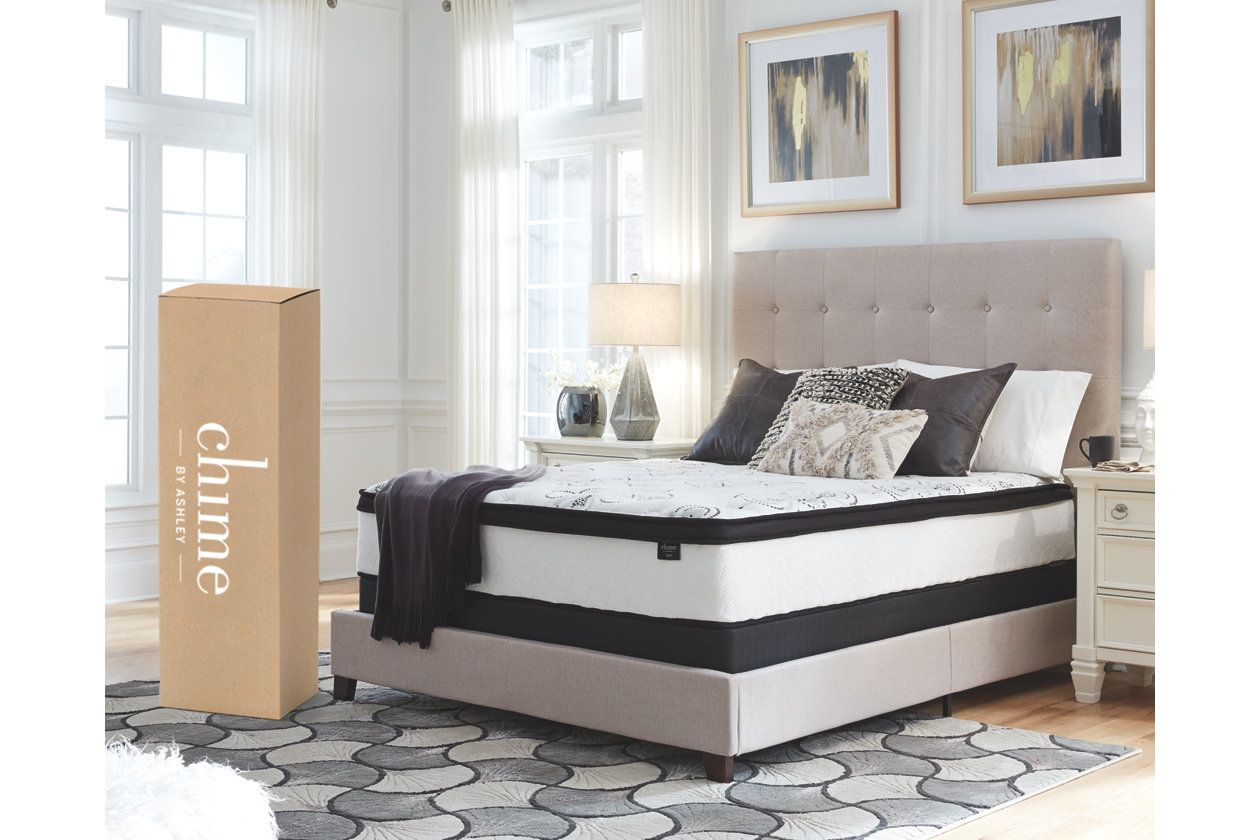Chime 12 Inch Hybrid Twin Mattress in a Box Boys Will Be