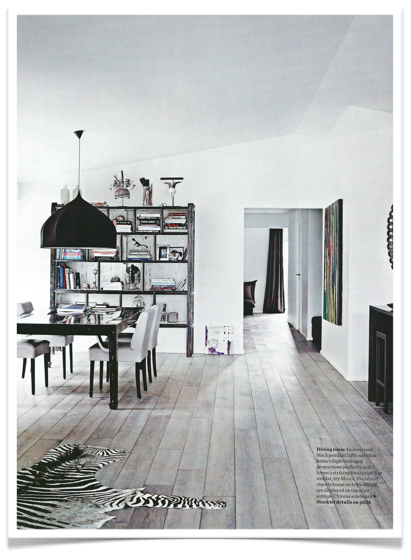 Copenhagen apartment from Elle decoration