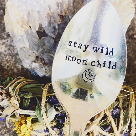 Stay Wild spoon