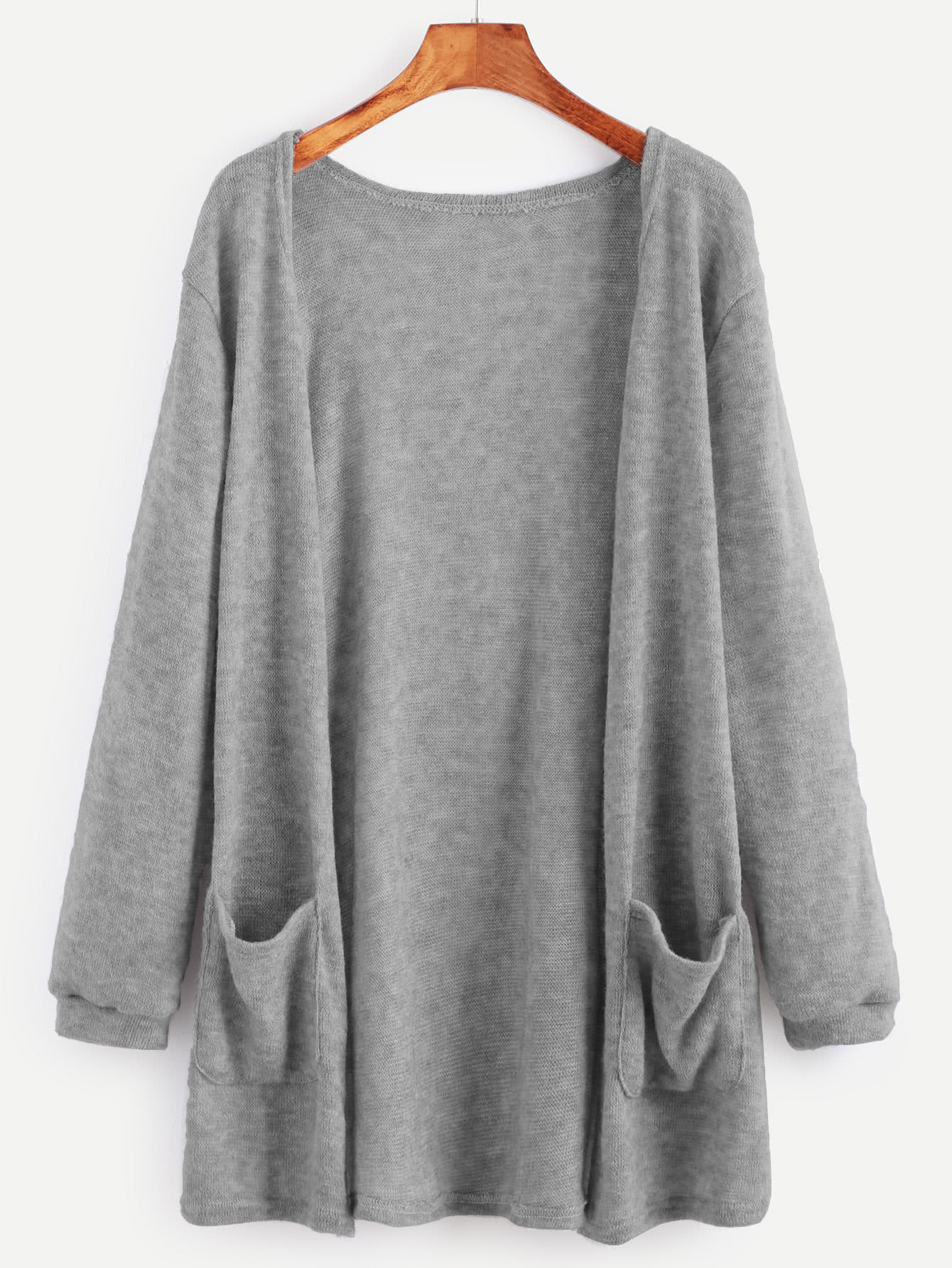 Open Front Cardigan With Pockets | Pockets online, Open front ...