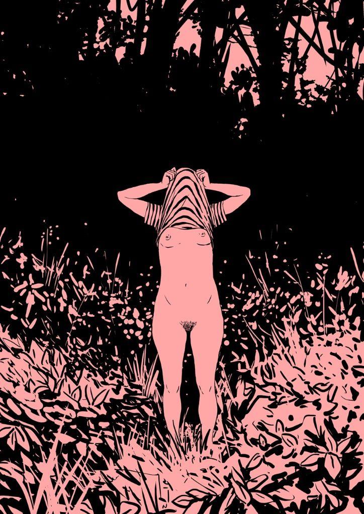 desnuda desilusion juvenil