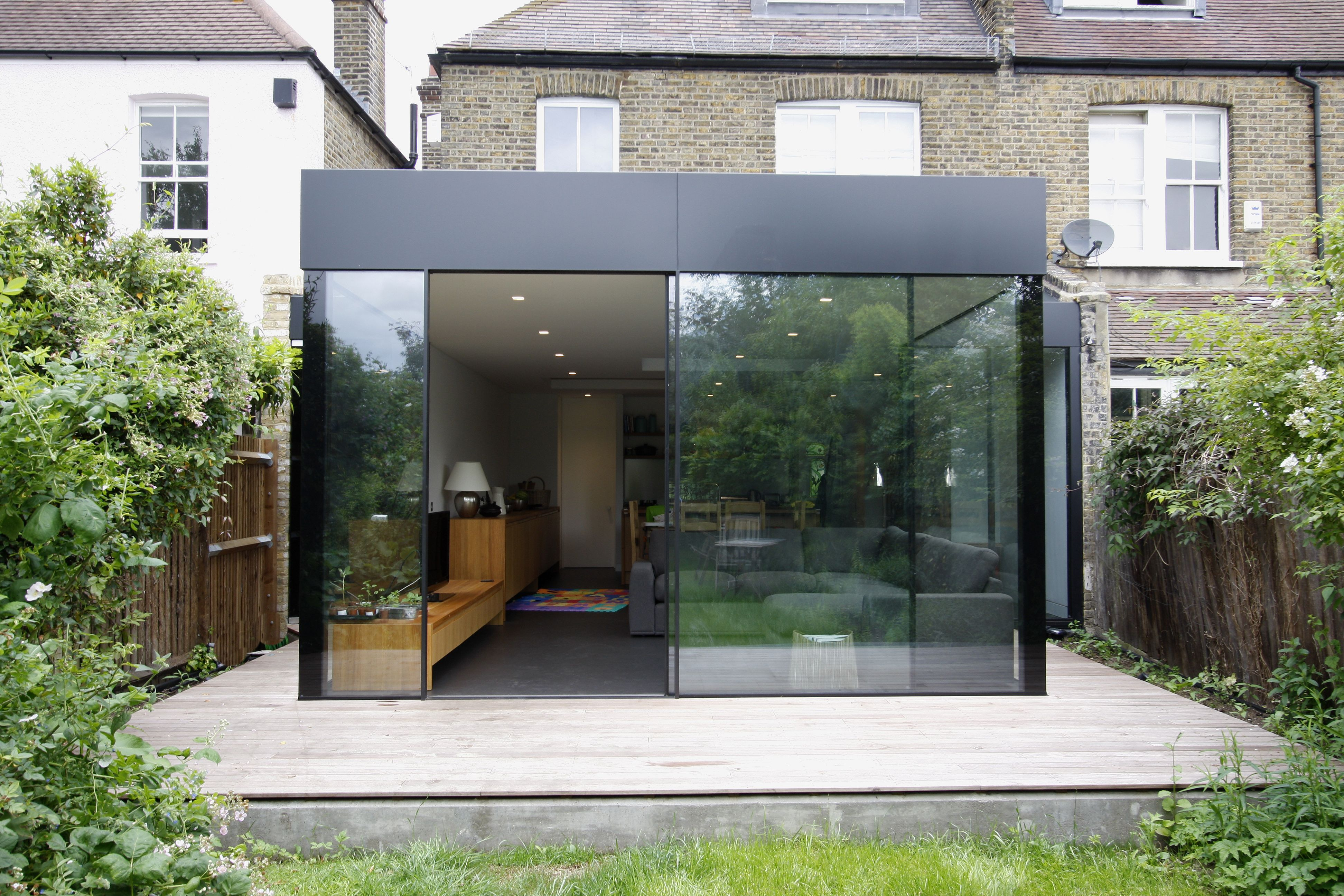Glass extensions google search