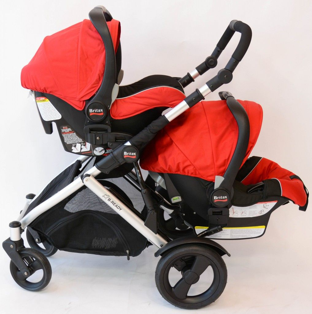 Britax BReady Double Frame (2 carseats) Britax double