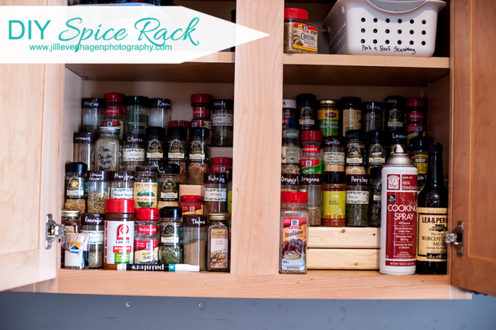 How To Build A Spice Rack Diy Spice Rack  Diy Spice Rack Organizing And Organizations