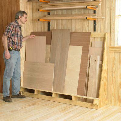 Sheet Goods Storage Lumber Storage Plywood Storage