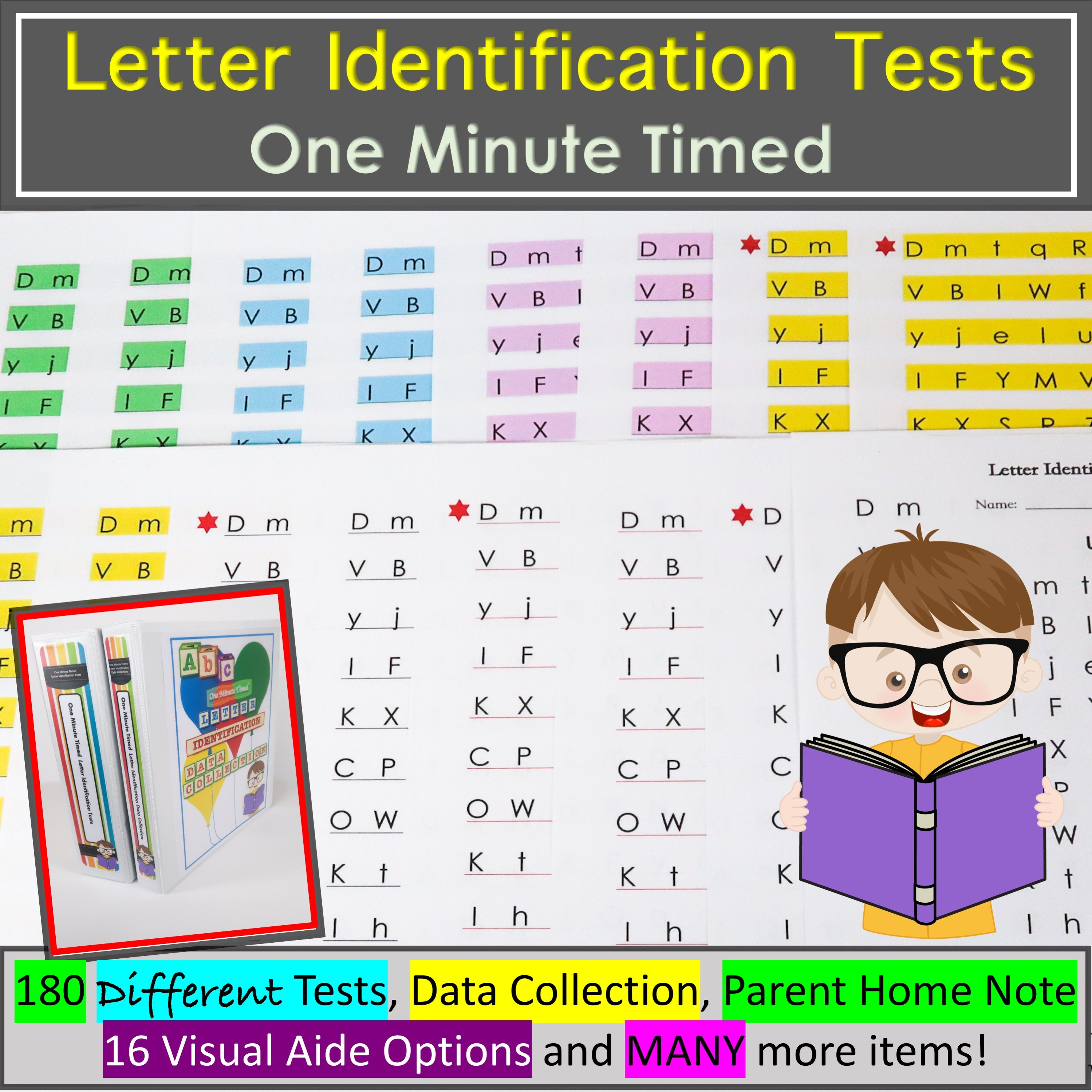 Letter Identification Assessment