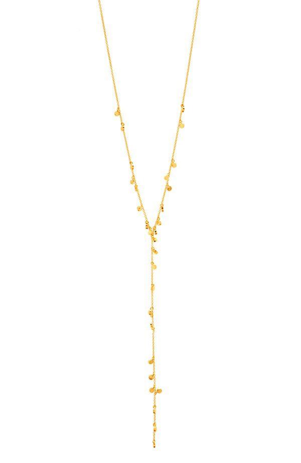 gorjana gorjana 'Chloe' Mini Y-Necklace available at #Nordstrom